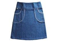 Jeansrock mit Taschen - LAGERWARE